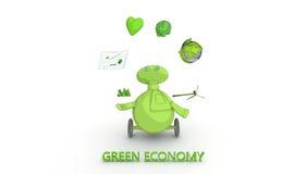 Zielona gospodarka Fotografia Royalty Free
