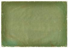 Zielona grunge papieru pokrywa z pełnoletnimi ocenami Fotografia Stock
