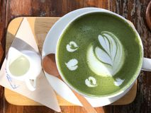 zielona herbata obrazy stock