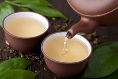zielona herbata Obrazy Royalty Free
