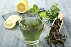 Zielona Herbata Fotografia Stock