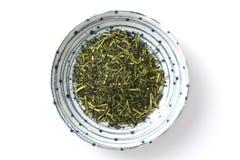 Zielona herbata liście Obraz Royalty Free