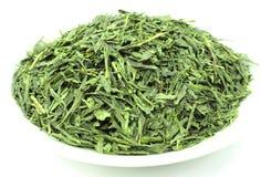 Zielona Herbata Sencha Chiny Fotografia Stock