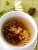 zielona herbata wiążąca Obrazy Royalty Free