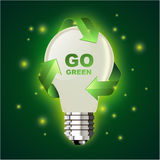 zielona idzie ilustracja Fotografia Royalty Free