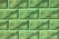zielona kamienna ściana Obraz Stock