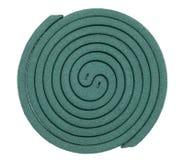 Zielona komar spirala zdjęcia stock