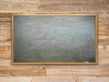 Zielona Kredowa deska Zdjęcie Royalty Free