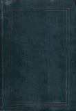 Zielona książkowej pokrywy tekstura Zdjęcia Royalty Free