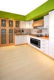 zielona kuchnia Zdjęcie Royalty Free