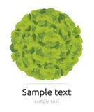 Zielona kula ziemska Zdjęcie Stock