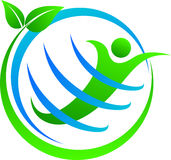 Zielona kula ziemska Zdjęcie Royalty Free