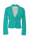 Zielona kurtka zdjęcie stock