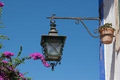 zielona lampa Zdjęcia Stock