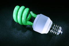zielona lampa Obrazy Royalty Free