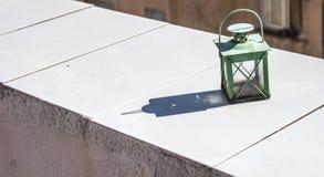 zielona latarnia Obraz Stock