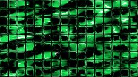 Zielona mała szklana ściana tafluje tło Obraz Royalty Free