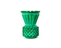 Zielona mała waza Obrazy Royalty Free