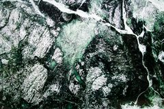 Zielona marmurowa naturalna tekstura Zdjęcie Royalty Free
