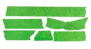 Zielona maskuje taśma Zdjęcia Royalty Free