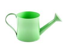 Zielona metal wody puszka Zdjęcie Royalty Free