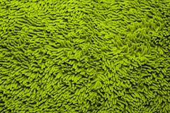 Zielona Microfiber kąpielowa mata zdjęcie stock