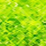 zielona mozaika Obrazy Stock