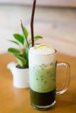 zielona mrożonej herbaty Fotografia Royalty Free