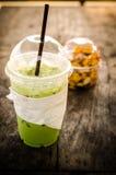 zielona mrożonej herbaty Zdjęcie Royalty Free