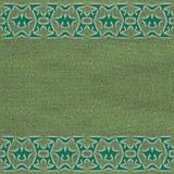 Zielona netto tekstura Obrazy Stock