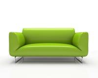 zielona nowożytna kanapa ilustracja wektor