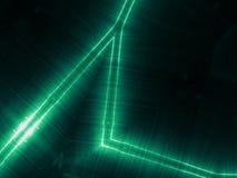 Zielona odbija kruszcowa powierzchnia Technologiczna tekstura i tło Zdjęcie Royalty Free