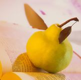 zielona pear Obraz Stock