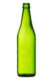 Zielona piwna butelka Zdjęcie Royalty Free