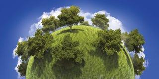 zielona planeta Obrazy Royalty Free