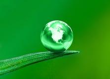 Zielona planeta Zdjęcia Stock