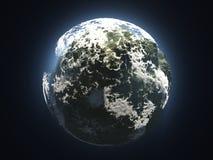 Zielona planety ekologia, natura i obrazy royalty free