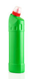 Zielona plastikowa butelka Zdjęcia Royalty Free