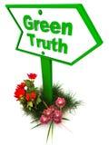 Zielona prawda Obrazy Royalty Free