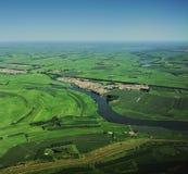 zielona przestrzeń Obrazy Royalty Free