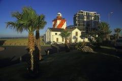 Zielona punkt latarnia morska, światło dzienne (II) Zdjęcie Royalty Free