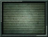 Zielona rama z klejnotami Obrazy Stock