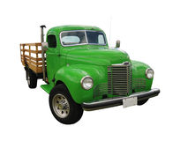 Zielona rocznik ciężarówka Obraz Royalty Free