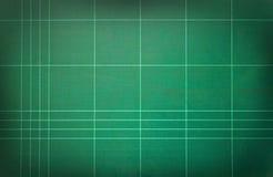 Zielona rozcięcie mata. Fotografia Stock