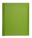 Zielona rzemienna hardcover książka Obraz Stock