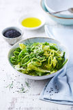 Zielona sałatka zdjęcie stock