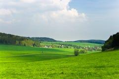 zielona sceneria Zdjęcie Royalty Free