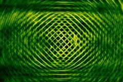 Zielona sieć i round tło Obrazy Stock