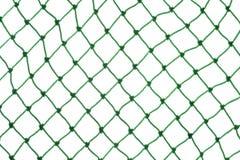 Zielona sieć na białym tle Obraz Stock