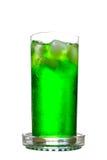zielona soda Fotografia Stock